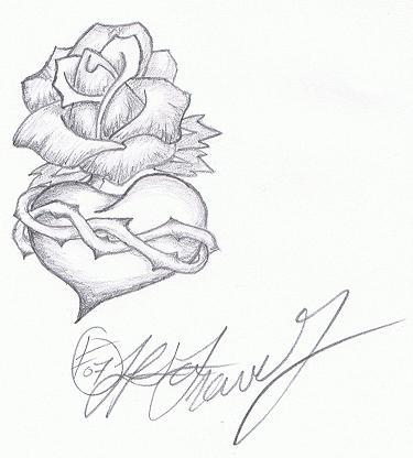 Sketches for rose hard sketch sketchesxo tattoo roseheart bitemehard on deviantart ccuart Images