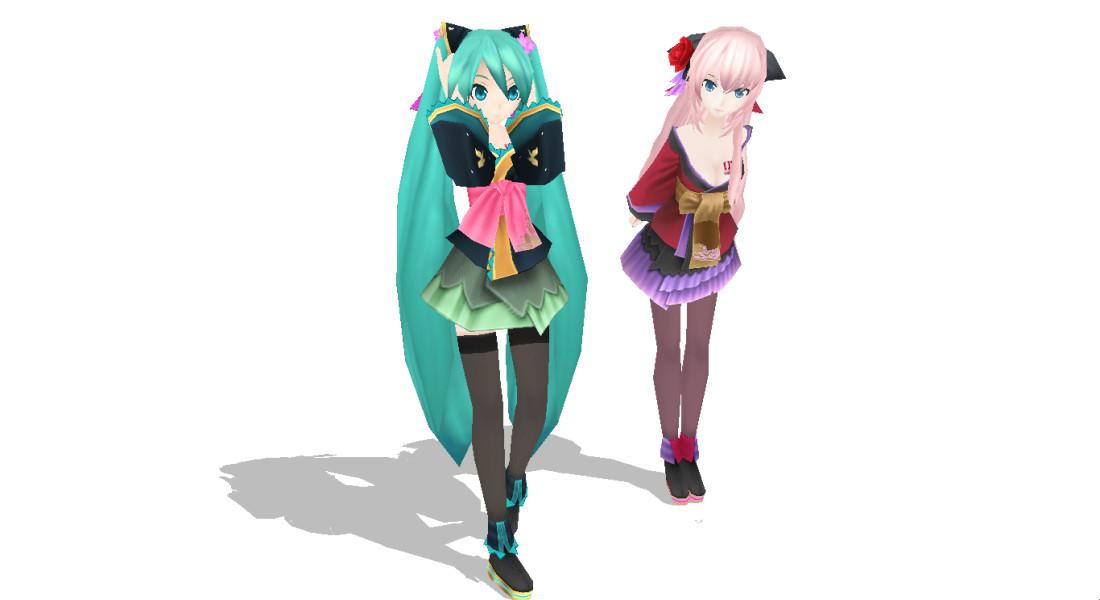 Physics Update] TDA Kimono Miku [DL] by 0oSoulSistero0 on DeviantArt