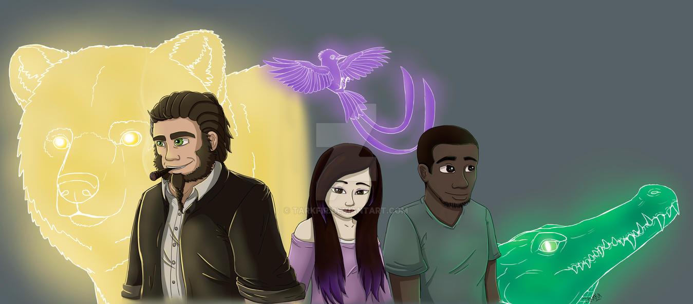 Team Spirits and Guardians by Tarkfir