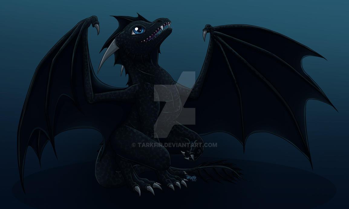 My baby dragon by Tarkfir