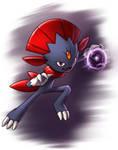 Weavile - Shadow Ball