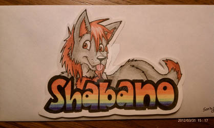 Shabano Sticker by wildpup11