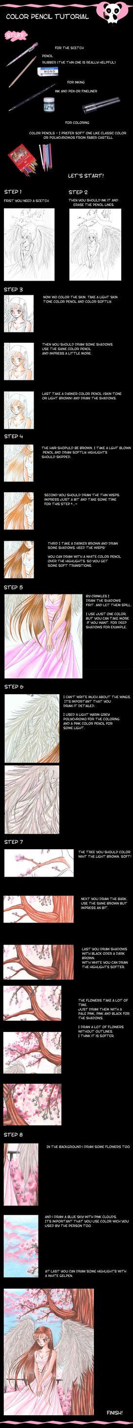 Color Pencil Tutorial Part I by Mana-Kyusai
