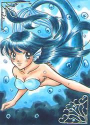 KAKAO - Swimming Mermaid by Mana-Kyusai