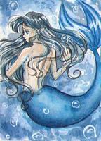 KAKAO 107 - Blue Bubbles by Mana-Kyusai