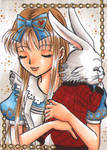 Alice+Peter ACEO