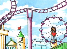 Amusement Park by Mana-Kyusai