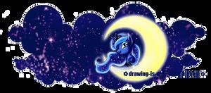 MLP: Princess Luna -  Mug Design