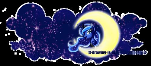 MLP: Princess Luna -  Mug Design by Mana-Kyusai