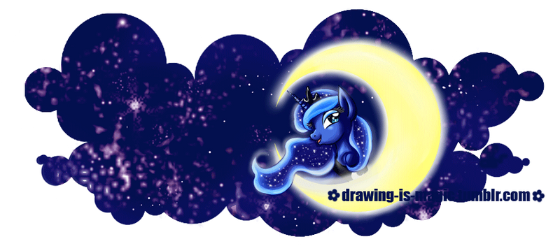 MLP: Princess Luna -  Mug Design