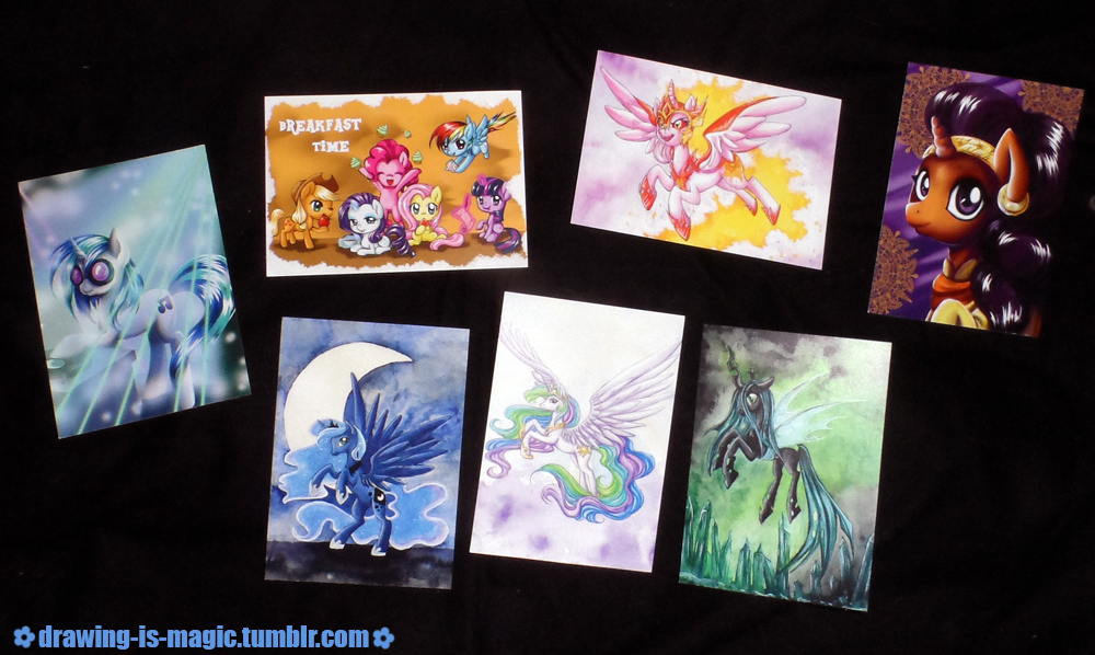 Postcards by Mana-Kyusai
