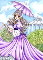 Violett Garden - Redraw