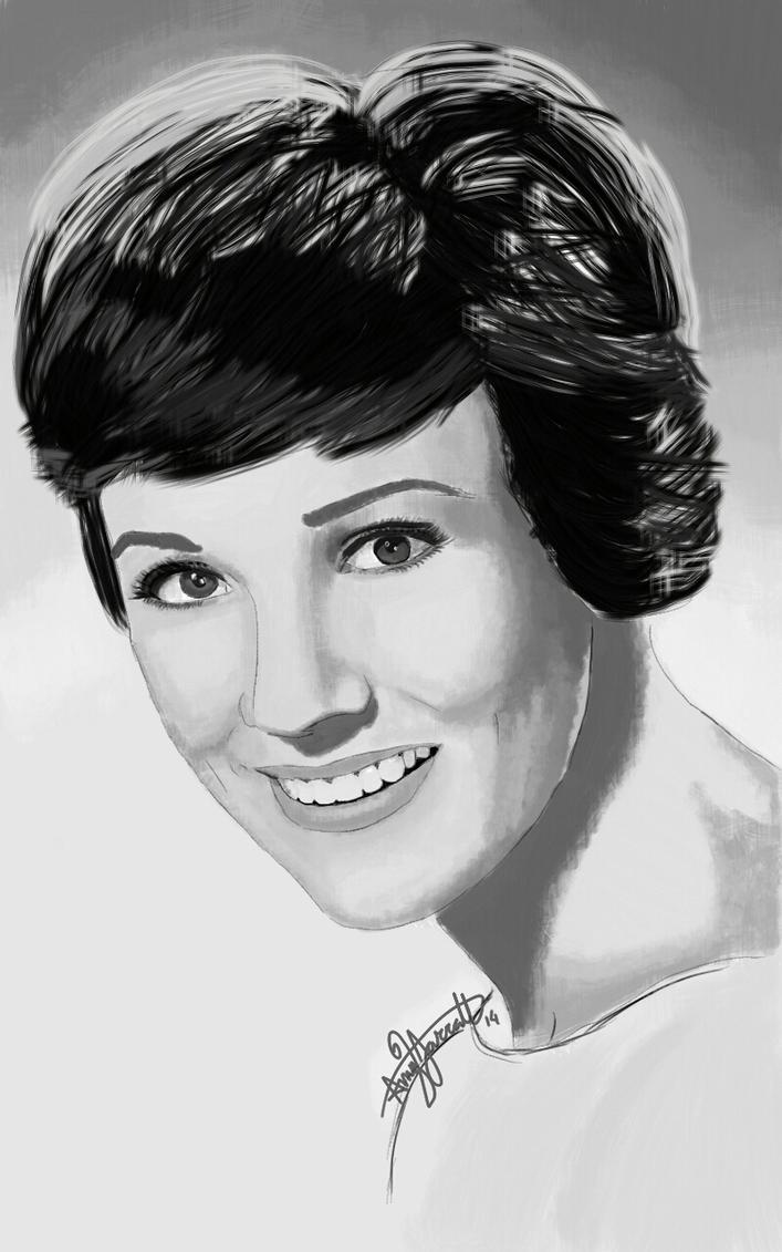 Julie Andrews by epicamytime