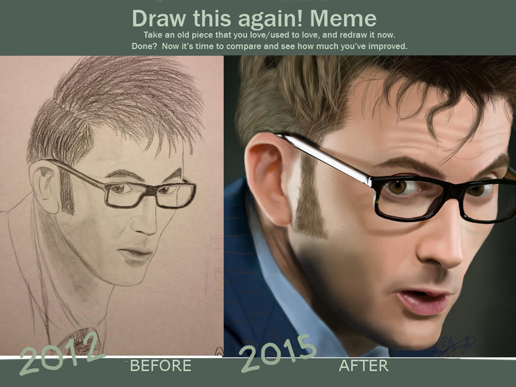David Tennant, Draw This Again by epicamytime