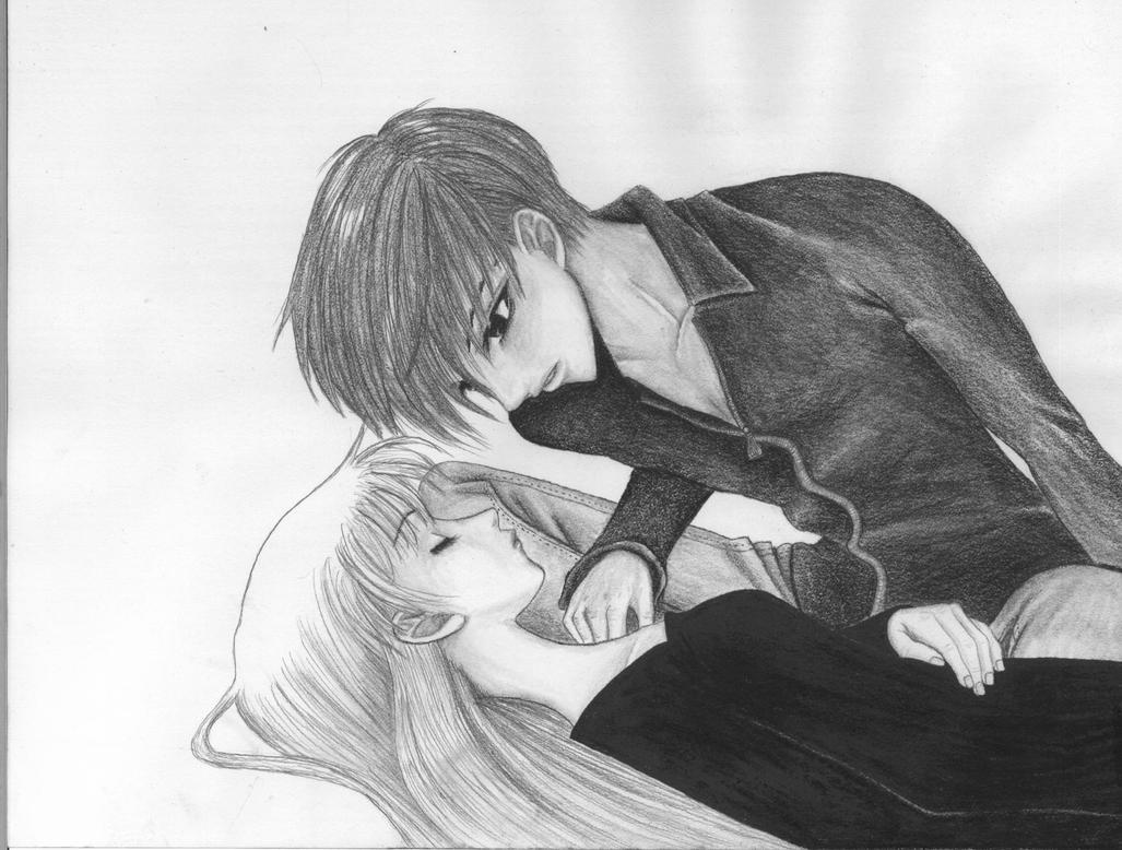 Kyo and Tohru by Kessira26