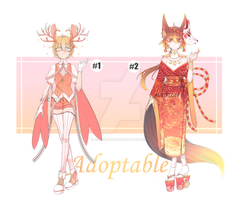 [OPEN] Adoptable pack Auction (1\2) by PandaOmi123