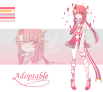 [OPEN] Pink sister Adoptable Auction by PandaOmi123
