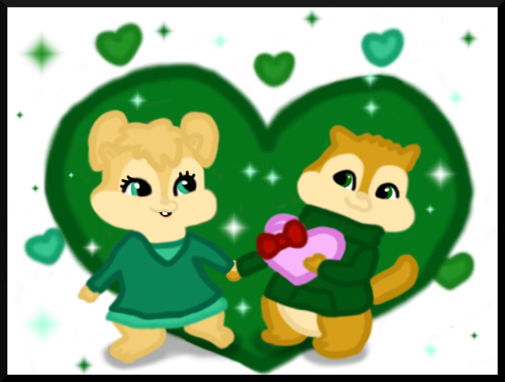 Alvin And The Chipmunks Theodore And Eleanor Wallpaper theodore and eleanor