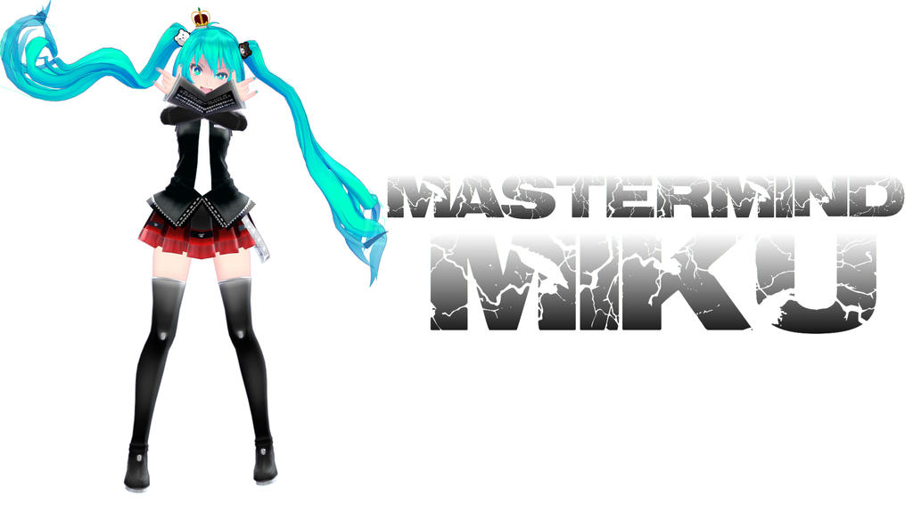 MMD Mastermind!Miku by TangledNightmares