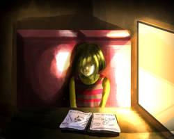Looking at  the Sketchbook by GabrielDrawingsxD