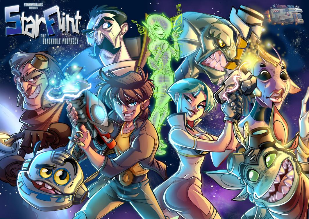 Star Flint's Cover Art by leandrotitiu