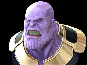 Thanos concept by leandrotitiu