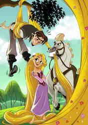 Test for Disney Comics by leandrotitiu