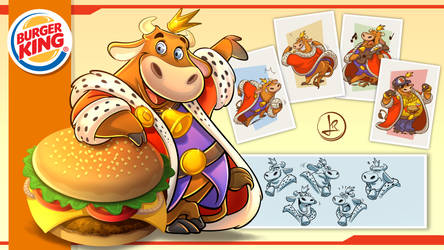 Mascot - Burger King test :) by leandrotitiu
