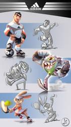 Mascot Adidas - test by leandrotitiu