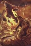 King Kong vs (Mini) Godzilla