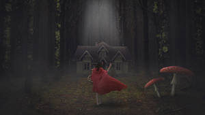 Little Red Riding Hood ( Photoshop Tutorial )