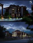 Casa Torre Houses.4-Night