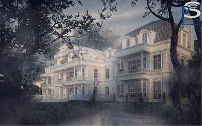Villa.Rainy by pitposum