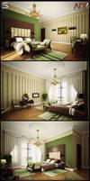 villa F.int.Bedroom by pitposum