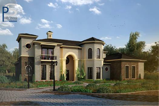 Italya House. Retouch