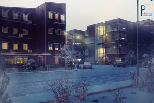 snowy street.02