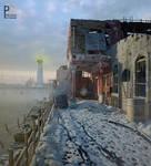 old street 12.snowy