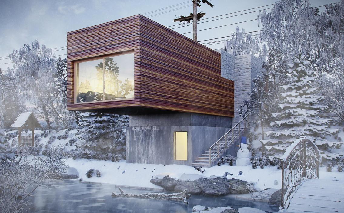 Exterior-snowly by pitposum