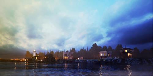 fishing village1F