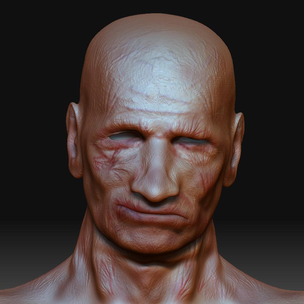 Zbrush Head test