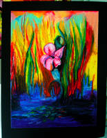 oil pastels by livdistler