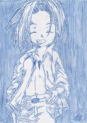 Yoh Asakura (original) by PrincessKairy