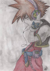 Sora (original) by PrincessKairy