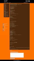 TheYLMZ Wordpress Template by silent-disk