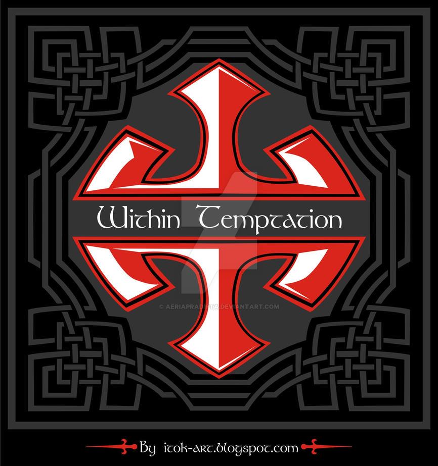 within temptation logo with celtic ornamen by aeriapradipta on deviantart. Black Bedroom Furniture Sets. Home Design Ideas