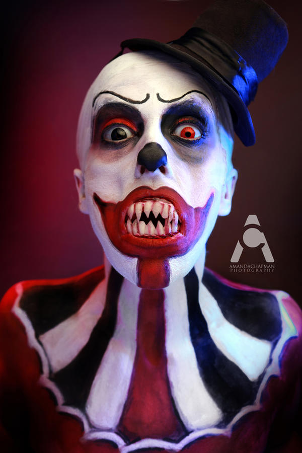 LunarTrix The Clown by Prettyscary
