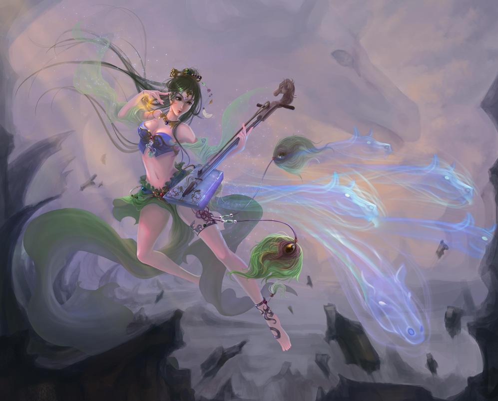 Music Curse Division by kailin90