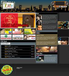 Radio Today web template