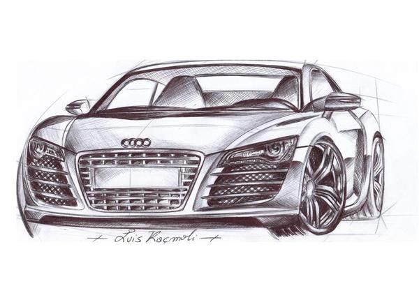 Audi R8 - completata by kluis on DeviantArt