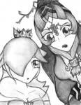Midna and Rosalina